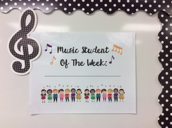 Music Student of the Week