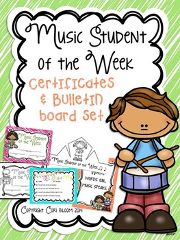 Music Student of the Week Set