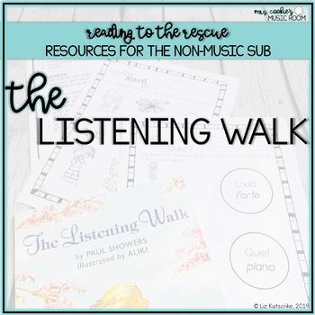 Music Sub Plan: The Listening Walk