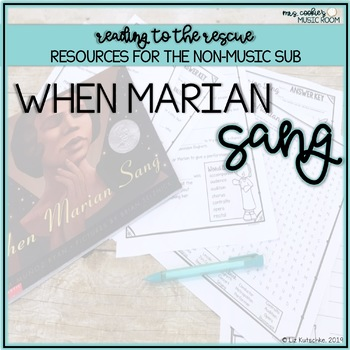 Music Sub Plan: When Marian Sang