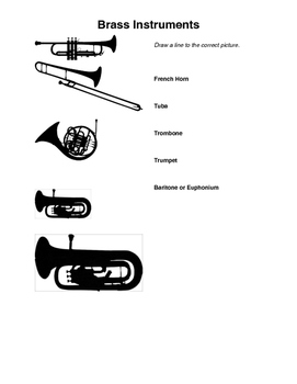 Music Sub Plans: Instrument Word Puzzles and Worksheets