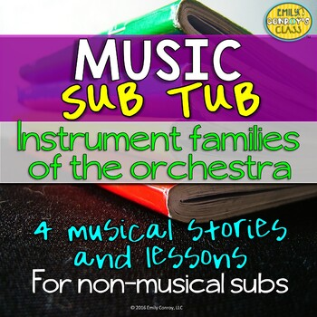 Music Sub Tub (Instruments of the Orchestra and Instrument