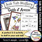 Music Sub Tub Stuffers: 3-5 Music Substitute Plan - Guido d'Arezzo