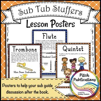 Music Sub Tub Stuffers: K-2 Substitute Plan - Zin! Zin! Zin! A Violin