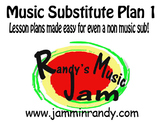 Music Substitute Plan #1