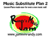 Music Substitute Plan #2
