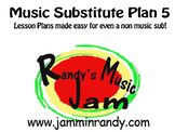 Music Substitute Plan #5
