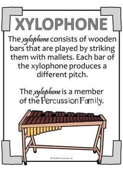 Music Substitute Plans (The Percussion Family)