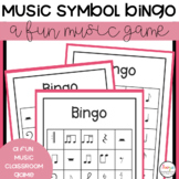 Music Symbol Bingo Classroom Game