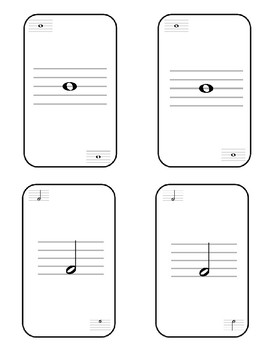Music Symbol Card Set 24 Piece