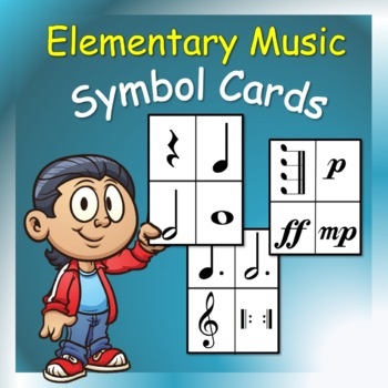 Music Cards: Symbol Cards for Elementary Music