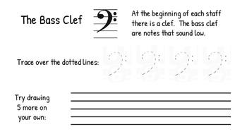 Music Symbol Drawing Practice