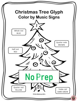 Music Coloring Sheets 24 Christmas Color By Symbol Pages