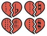 Music Symbol Heart Match