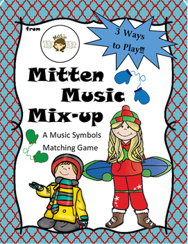 Music Symbol: Mitten Music Mix-UP