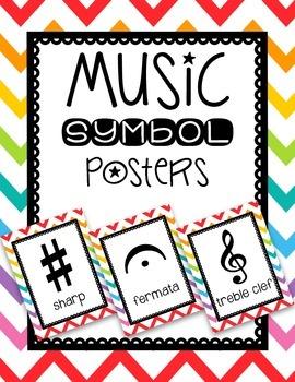 Music Symbol Posters