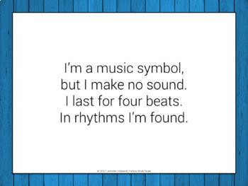Music Symbol Riddles