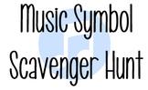 Music Symbol Scavenger Hunt