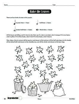 Music Symbol Worksheets