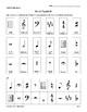 Music Symbols Cut-And-Paste Worksheet