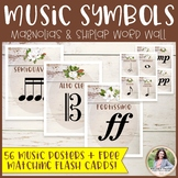 Music Symbols & Dynamics Word Wall Posters {Magnolia Music