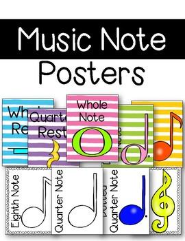 Music Symbols Posters