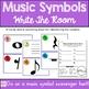 Music Symbols Write the Room Center
