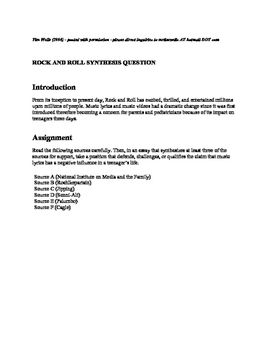 Apa Format For Essay Paper  English Essays For High School Students also Essay Mahatma Gandhi English Music Synthesis Essay Argumentative Essay Thesis Example