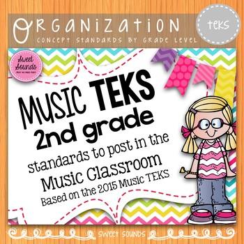 Music Standards TEKS: 2nd Grade