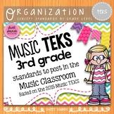 Music Standards TEKS: 3rd Grade