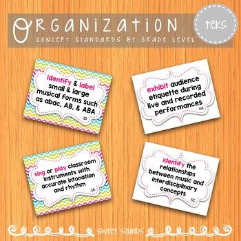 Music Standards TEKS: 3rd Grade - Standards-Based Objectives