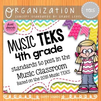 Music Standards TEKS: 4th Grade