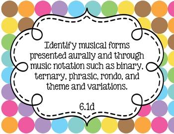 Music Standards TEKS: 6th Grade