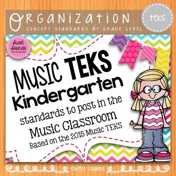 Music Standards TEKS: Kindergarten