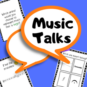 Music Talks: Music Questions for Thoughtful Discussions