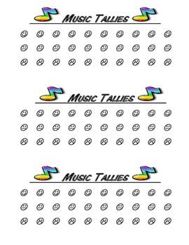 Music Tallies
