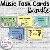 Music Task Cards Bundle