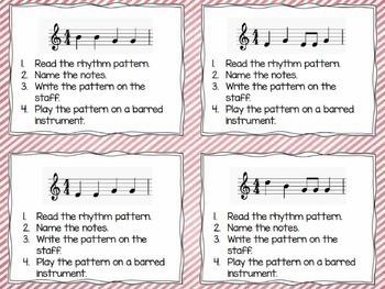 Music Task Cards {Bundled Set}
