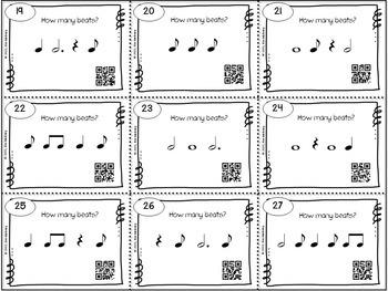 Music Task Cards: Rhythm Set 1