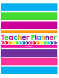 Music Teacher 2016-2017 Planner-4 Every Other Day Class Template