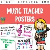 Music Teacher Appreciation Posters