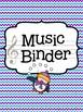 Music Teacher Binder - Arctic Theme