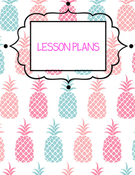Music Teacher Binder Covers - Pineapple
