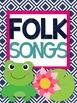 Music Teacher Binder {Frog Themed}