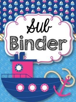 Music Teacher Binder {Nautical Themed}