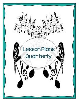 Music Teacher Binder Pages