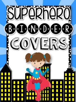 Music Teacher Binder {Superhero Themed}