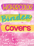 Music Teacher Binder {Watercolor Themed}
