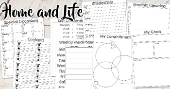 #PlanMyWholeLife Music Teacher Planner Bundle: Dated 5 Big