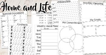 #PlanMyWholeLife Music Teacher Planner Bundle: Rotational